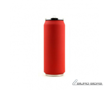 Yoko Design Isotherm Tin Can 500 ml, Soft touch red 176..