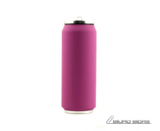 Yoko Design Isotherm Tin Can 500 ml, Soft touch violet