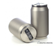 Yoko Design Isotherm Tin Can 280 ml, Soft touch silver ..