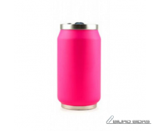 Yoko Design Isotherm Tin Can 280 ml, Fluo pink 176050