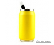 Yoko Design Isotherm Tin Can 280 ml, Fluo yellow 176051