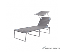 CAMPART travel Foldable lounger 120 kg
