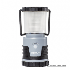 FRENDO Lantern Power'Light Grey 4 Cool White LED's + 4 Warm White LED's, 0-380 lm, 4 lighting types (natural, cold, warm, candle-flickering), Battery level indicator 178233