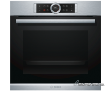 Bosch Oven Serie 8 HRG675BS1S 71 L, Stainless steel, Py..