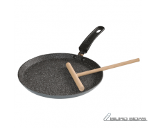 Stoneline 9195 Crepe Pan, 24 cm, Non-stick coating, Fix..