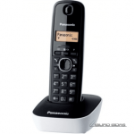 Panasonic Cordless KX-TG1611FXW Black/White, ..