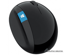 Microsoft L6V-00005 Sculpt Ergonomic Mouse, USB, Wirele..