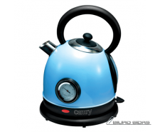 Camry CR 1252b Standard kettle, Stainless steel, Blue, ..