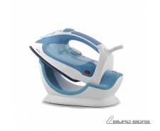 Camry Steam iron CR 5026 White/ blue, 2200 W, Anti-drip..