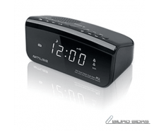 Muse Clock radio  M-16CR Black, Display : 0,6 inches wh..