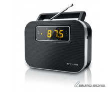 Muse M-081R Black, Alarm function, 2-band PLL portable ..