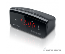 Muse Clock radio PLL M-12CR Black, Alarm function 194667