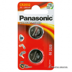 Panasonic CR2032, Lithium, 2 pc(s) 197085