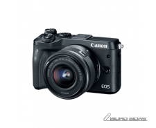 Canon EOS M6 M15-45 S Mirrorless Camera Kit, 24.2 MP, I..
