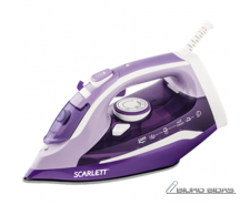 Scarlett Iron SC-SI30K16  Purple, 2400 W, Steam, Contin..