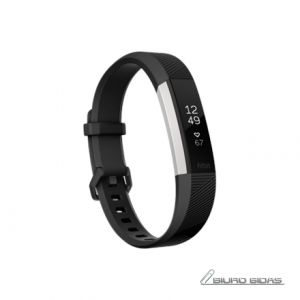 Fitbit Alta HR Small FB408SBKS-EU OLED, Warranty 24 month(s), Touchscreen, Bluetooth, Yes, Heart rate monitor, Black/Stainless Steel, 199516