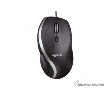 Logitech Mouse M500 Wired, Precision laser mouse, Black..