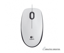 Logitech Mouse M100 Wired, White 201169