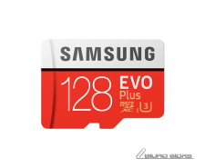 Samsung EVO Plus UHS-I U3 128 GB, MicroSDXC, Flash memo..