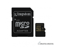 Kingston Gold UHS-I U3 32 GB, MicroSDHC, Flash memory c..