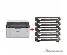 Brother HL1210WVBZW2 Mono, Laser, Printer, Wi-Fi, A4, W..