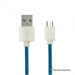KSIX BXCUSBTAZ Data Cable, Micro USB, USB, 1 ..