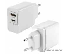 KSIX BXCDC02 Wall Charger with 2 USB Ports