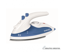 Scarlett Iron SC-1135S  White/ blue, 800 W, Traveling, ..