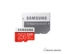 Samsung EVO PLUS UHS-I 256 GB, MicroSDXC, Flash memory ..