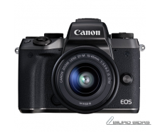 Canon EOS M5 15-45 S EU26 Mirrorless Camera Kit, 24.2 M..