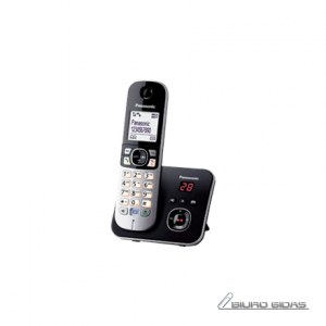 Panasonic Cordless KX-TG6821FXB Built-in display, Speakerphone, Conference call, Black/Silver, Caller ID, Wireless connection 209020