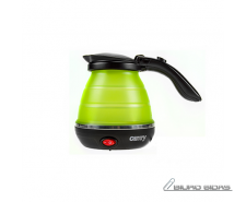 Camry CR 1265 Travel kettle, Plastic, Green, 750 W, 0.5..