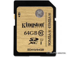 Kingston SDA10 UHS-I 64 GB, SDXC, Flash memory class 10..