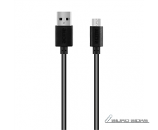 Acme Cable CB1012 2 m, Black, Micro USB, USB A 210438