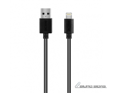 Acme Cable CB1031 1 m, Black, Lightning, USB A 210442