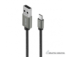 Acme Cable CB2011G 1 m, Space Gray, Micro USB, USB A 21..