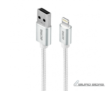 Acme Cable CB2021S 1 m, Silver, Lightning MFI, USB A 21..