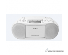 Sony CD/Cassette Boombox with Radio CFDS70W Cassette de..
