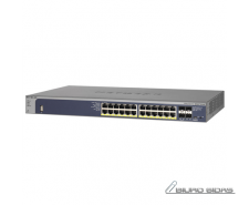 Netgear Switch GSM7224P-100­NES Managed L2+, Rack mount..