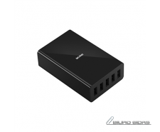 Acme Wall charger CH208  5 x USB Type-A, Black, DC 5 V,..