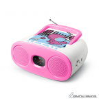 Muse Portable Radio M-20 KDG CD player, AUX i..