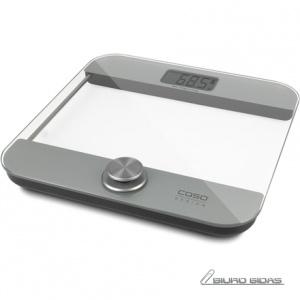 Caso Body Energy Ecostyle personal scale 3416 Maximum weight (capacity) 180 kg, Accuracy 100 g, White/Grey, Without batteries 216501