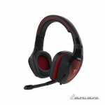 Gamdias EROS M1 RGB, Black/Red, Built-in micr..