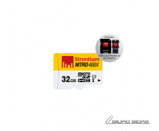 Strontium Micro SD with 3 in 1 Mobility Kit 32 GB, Micr..