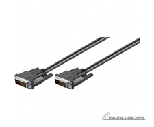 Goobay DVI-D FullHD cable Dual Link, nickel plated DVI ..