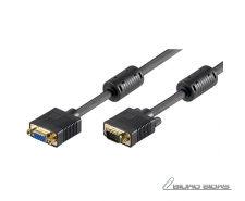 Goobay Full HD SVGA monitor extension cable, gold-plate..
