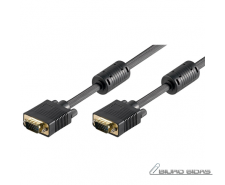 Goobay Full HD SVGA monitor cable, gold-plated VGA, Bla..