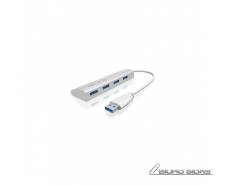 Raidsonic 4 Port USB 3.0 Hub Icy Box IB-AC6401 4x USB 3..