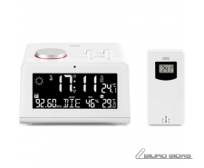 ADE Radio alarm clock  with weather station WS 1710 Whi..