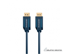 Clicktronic 70710 DisplayPort cable, Blue, 1 m 221584